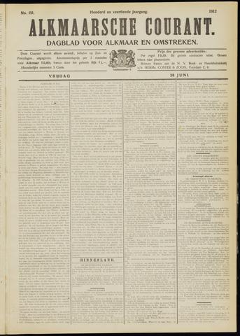 Alkmaarsche Courant 1912-06-28