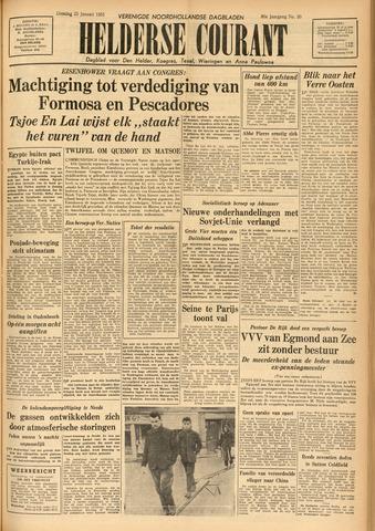 Heldersche Courant 1955-01-25
