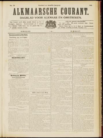 Alkmaarsche Courant 1910-03-29