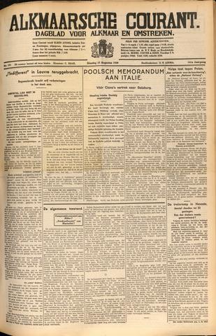Alkmaarsche Courant 1939-08-15