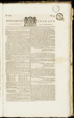 Alkmaarsche Courant 1836-08-08