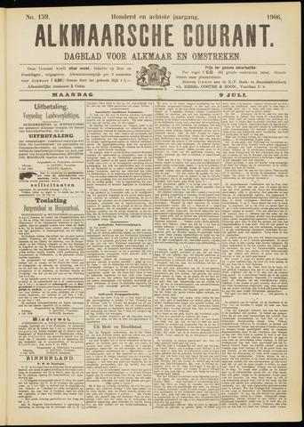 Alkmaarsche Courant 1906-07-09