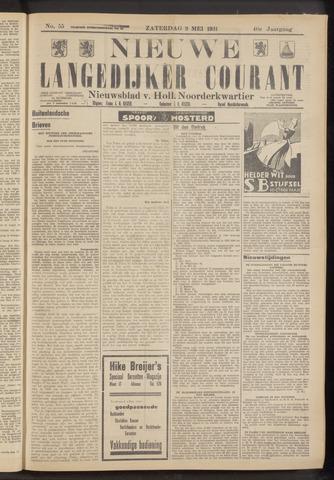 Nieuwe Langedijker Courant 1931-05-09