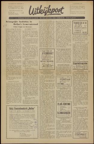 Uitkijkpost : nieuwsblad voor Heiloo e.o. 1958-01-17