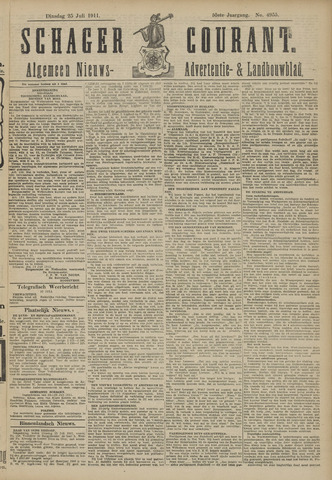 Schager Courant 1911-07-25
