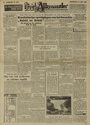 De Vrije Alkmaarder 1949-07-21
