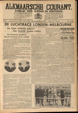 Alkmaarsche Courant 1934-10-24