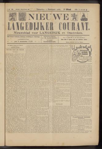 Nieuwe Langedijker Courant 1924-02-02