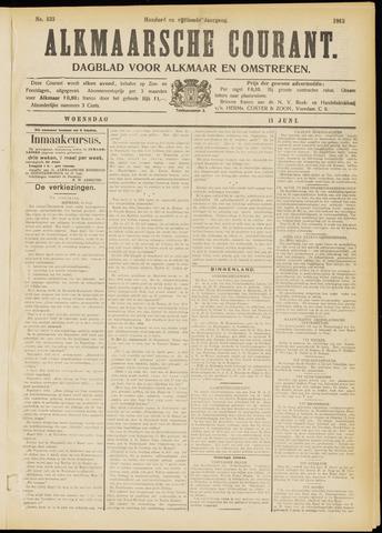 Alkmaarsche Courant 1913-06-11