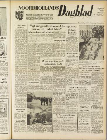 Noordhollands Dagblad : dagblad voor Alkmaar en omgeving 1954-04-07