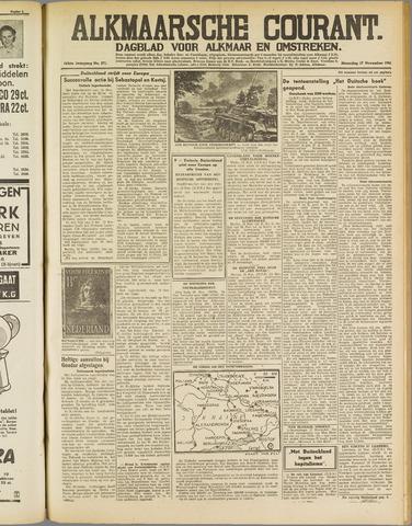 Alkmaarsche Courant 1941-11-17