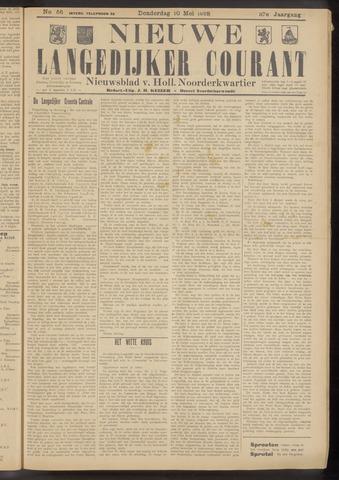 Nieuwe Langedijker Courant 1928-05-10