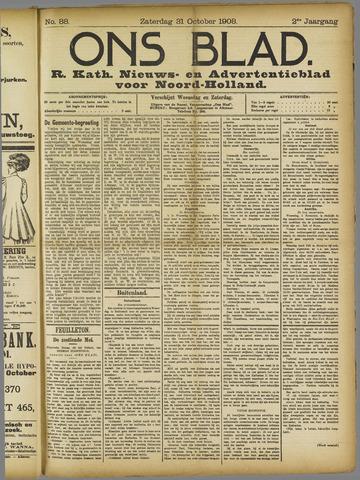 Ons Blad : katholiek nieuwsblad voor N-H 1908-10-31