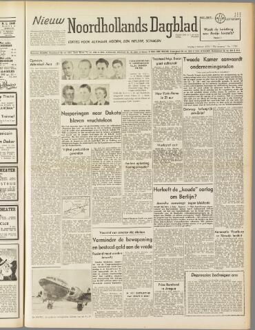 Nieuw Noordhollandsch Dagblad : voor Alkmaar en omgeving 1950-02-03