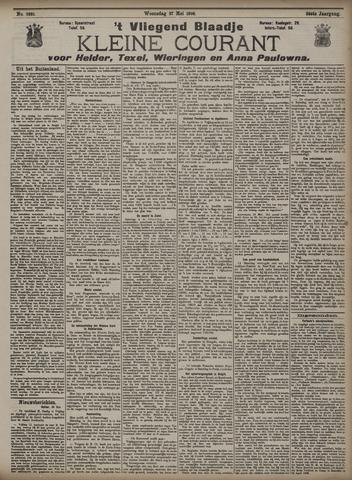 Vliegend blaadje : nieuws- en advertentiebode voor Den Helder 1908-05-27
