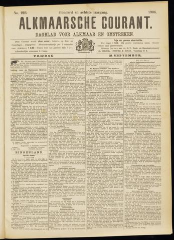 Alkmaarsche Courant 1906-09-21