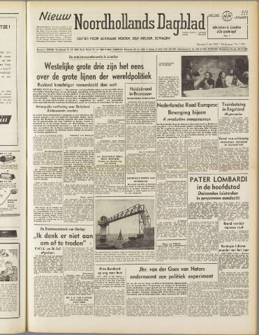 Nieuw Noordhollandsch Dagblad : voor Alkmaar en omgeving 1950-05-15