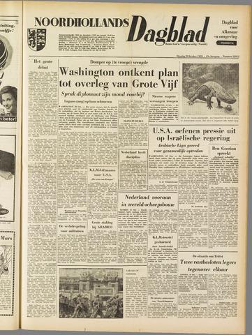 Noordhollands Dagblad : dagblad voor Alkmaar en omgeving 1953-10-20