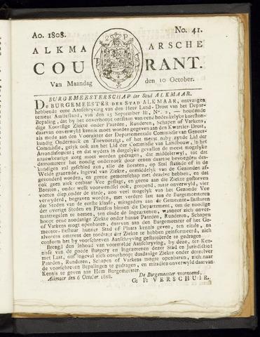 Alkmaarsche Courant 1808-10-10