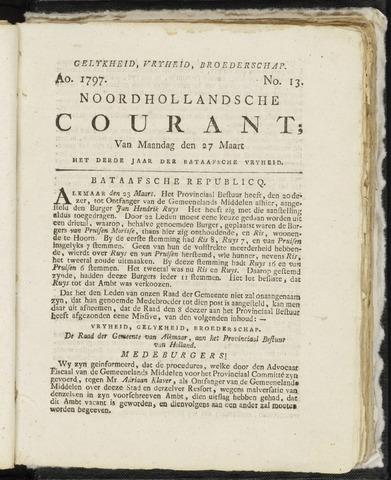Noordhollandsche Courant 1797-03-27