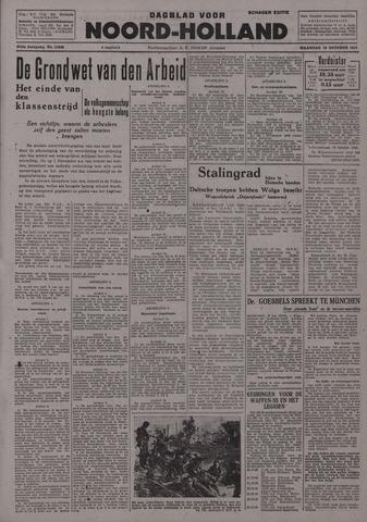 Dagblad Noord-Holland, Schager editie 1942-10-19