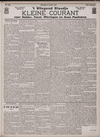 Vliegend blaadje : nieuws- en advertentiebode voor Den Helder 1904-01-16