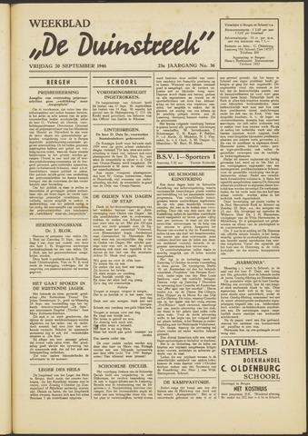 De Duinstreek 1946-09-20
