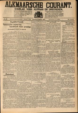 Alkmaarsche Courant 1934-10-09