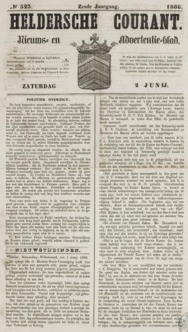 Heldersche Courant 1866-06-02