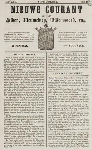 Nieuwe Courant van Den Helder 1864-08-17