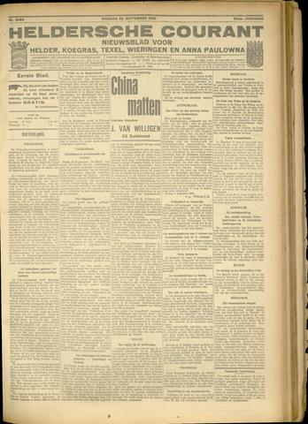 Heldersche Courant 1925-09-29