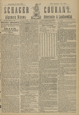 Schager Courant 1911-06-15