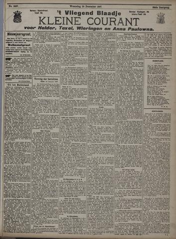 Vliegend blaadje : nieuws- en advertentiebode voor Den Helder 1907-12-25