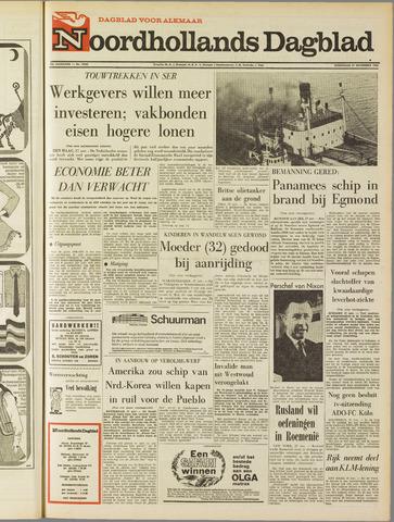 Noordhollands Dagblad : dagblad voor Alkmaar en omgeving 1968-11-27