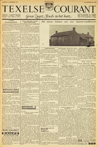 Texelsche Courant 1952-09-27