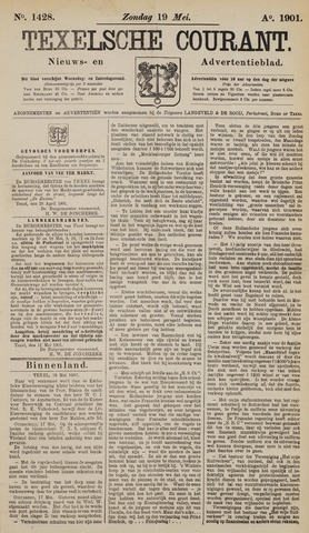 Texelsche Courant 1901-05-19