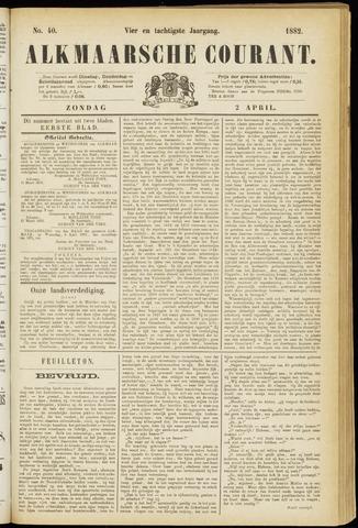 Alkmaarsche Courant 1882-04-02