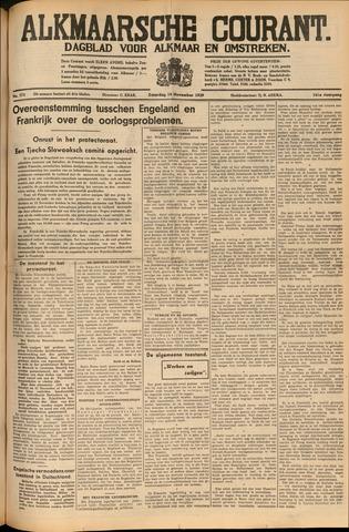 Alkmaarsche Courant 1939-11-18