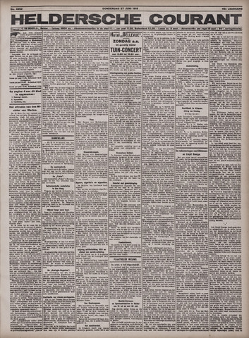 Heldersche Courant 1918-06-27