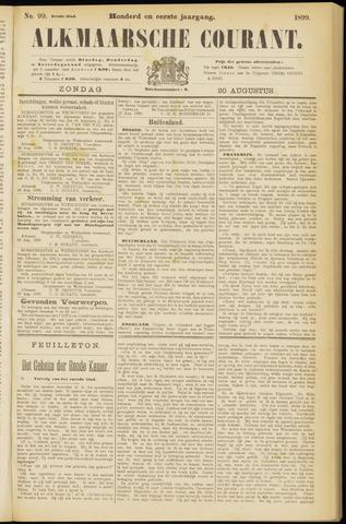 Alkmaarsche Courant 1899-08-20