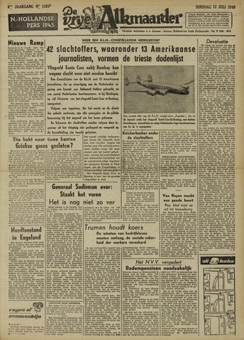 De Vrije Alkmaarder 1949-07-12