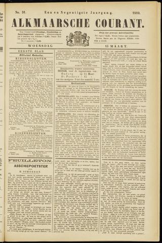 Alkmaarsche Courant 1889-03-13