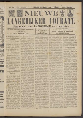 Nieuwe Langedijker Courant 1921-03-19