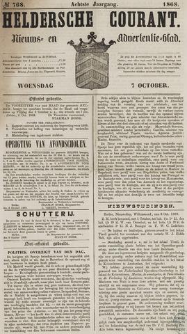 Heldersche Courant 1868-10-07