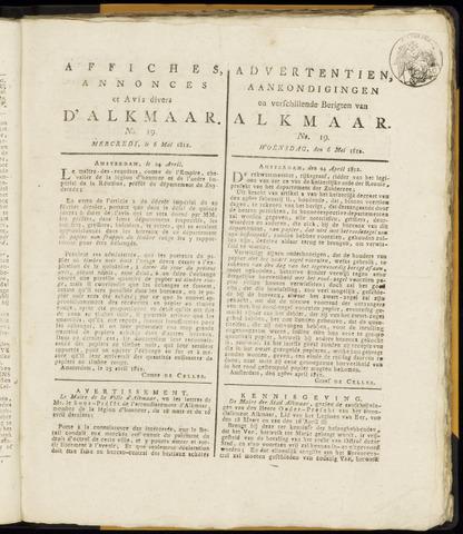Alkmaarsche Courant 1812-05-06