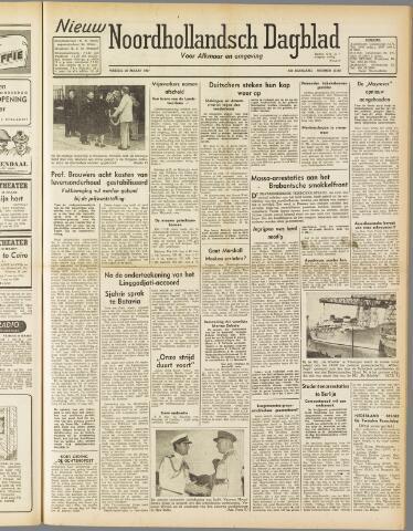 Nieuw Noordhollandsch Dagblad : voor Alkmaar en omgeving 1947-03-28