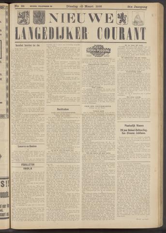 Nieuwe Langedijker Courant 1926-03-30
