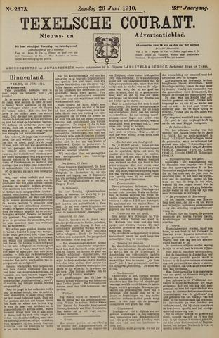 Texelsche Courant 1910-06-26