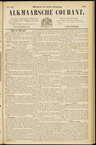 Alkmaarsche Courant 1899-11-01
