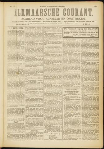 Alkmaarsche Courant 1917-07-05
